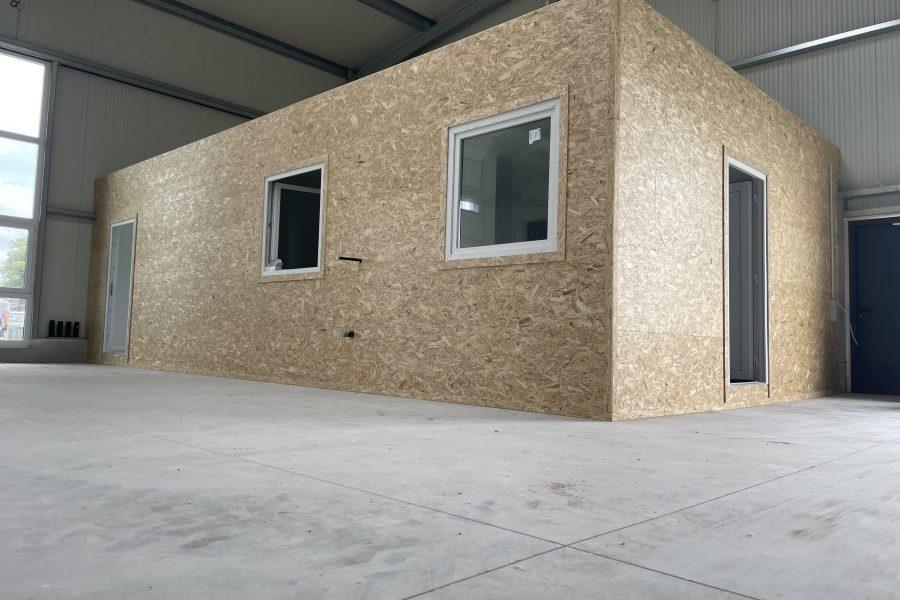 AOS – Stahl. Bau eines Bürogebäudes